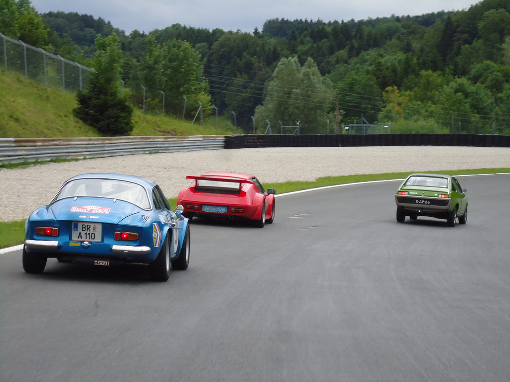Alpine A110 A310 At Salzburg Ring Circuit Meeting Club R Flickr Ringcircuit By Fuego 81