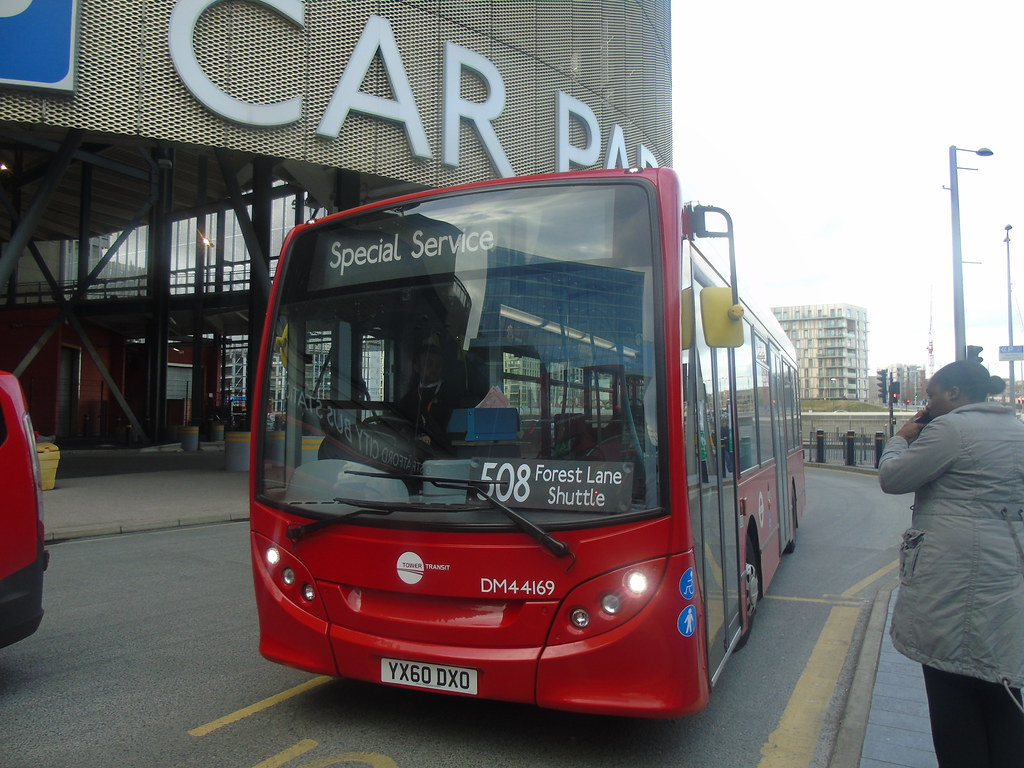 tower transit dm44169 (yx60dxo) at stratford city bus stat… | flickr