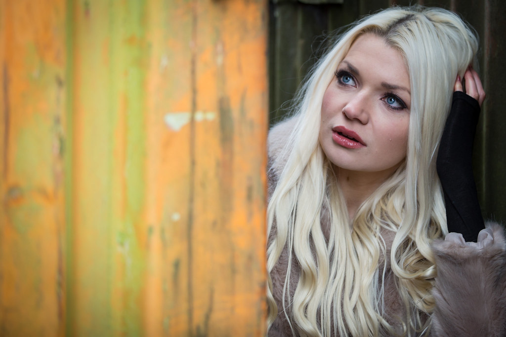 Gods blonde farm girl