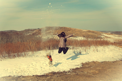 Yeah!!! The first day of spring! =D | by .Iuliania.