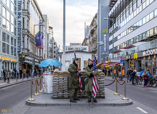 checkpoint charlie berlin 5 | by Eva Blue