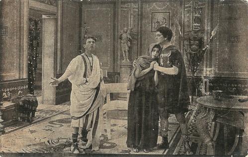 Livio Pavanelli in Fabiola, Sebastian hosting a Christian refugee
