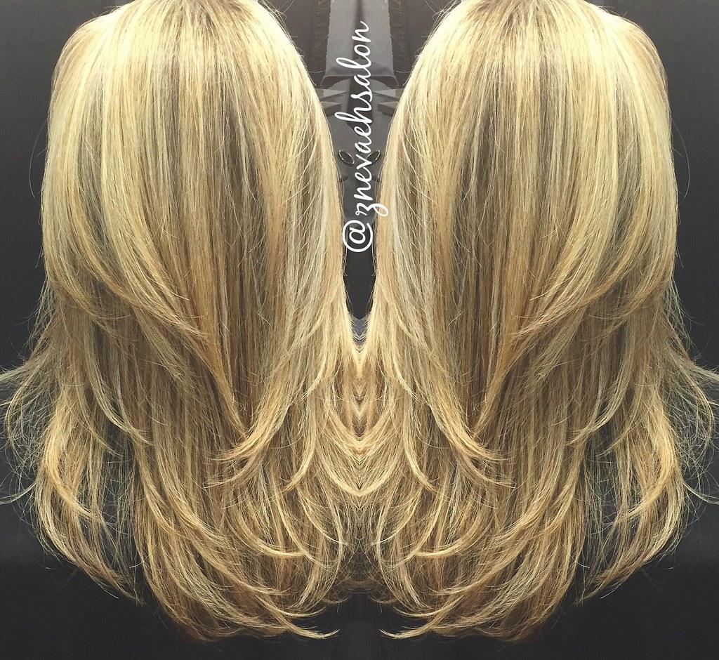 Sun Kissed Blonde Balayage Znevaehsalon Lorealprous Blo Flickr