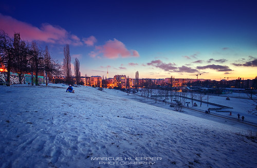 Mauerpark Berlin Sunset | by Marcus Klepper