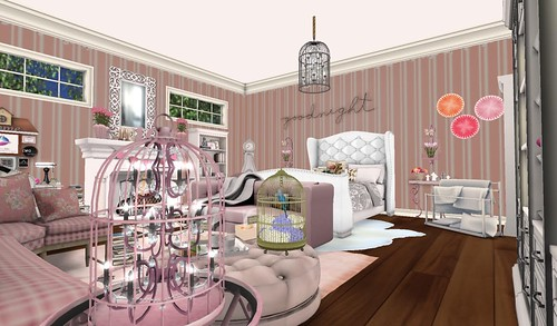 Goodnight Bedroom (H&G Expo 2016) | by Hidden Gems in Second Life (Interior Designer)