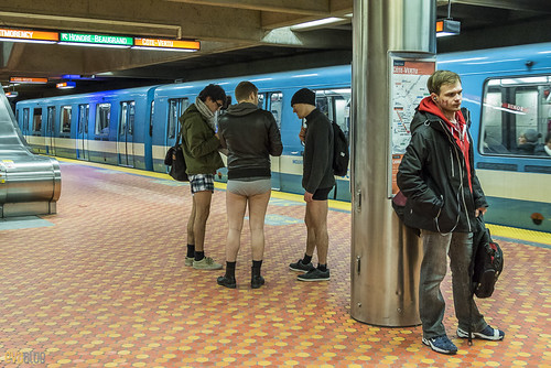 no pants subway ride montreal 2016 - 51 | by Eva Blue