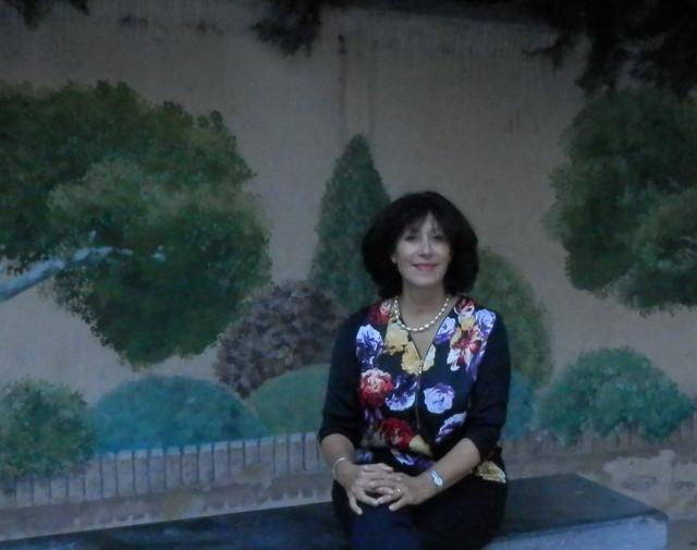 Beatriz en el Huerto San Nicolás