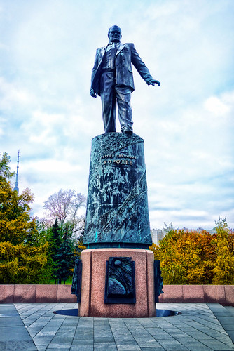 Statue to Sergei Korolev | by asenseof.wonder