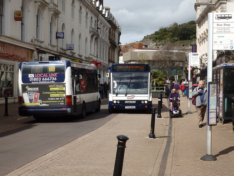Local Link buses in Torquay