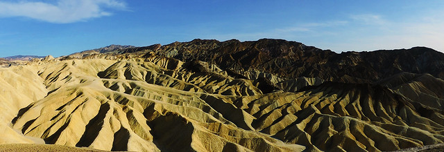 Zabriskie Point, Death Valley, CA, USA