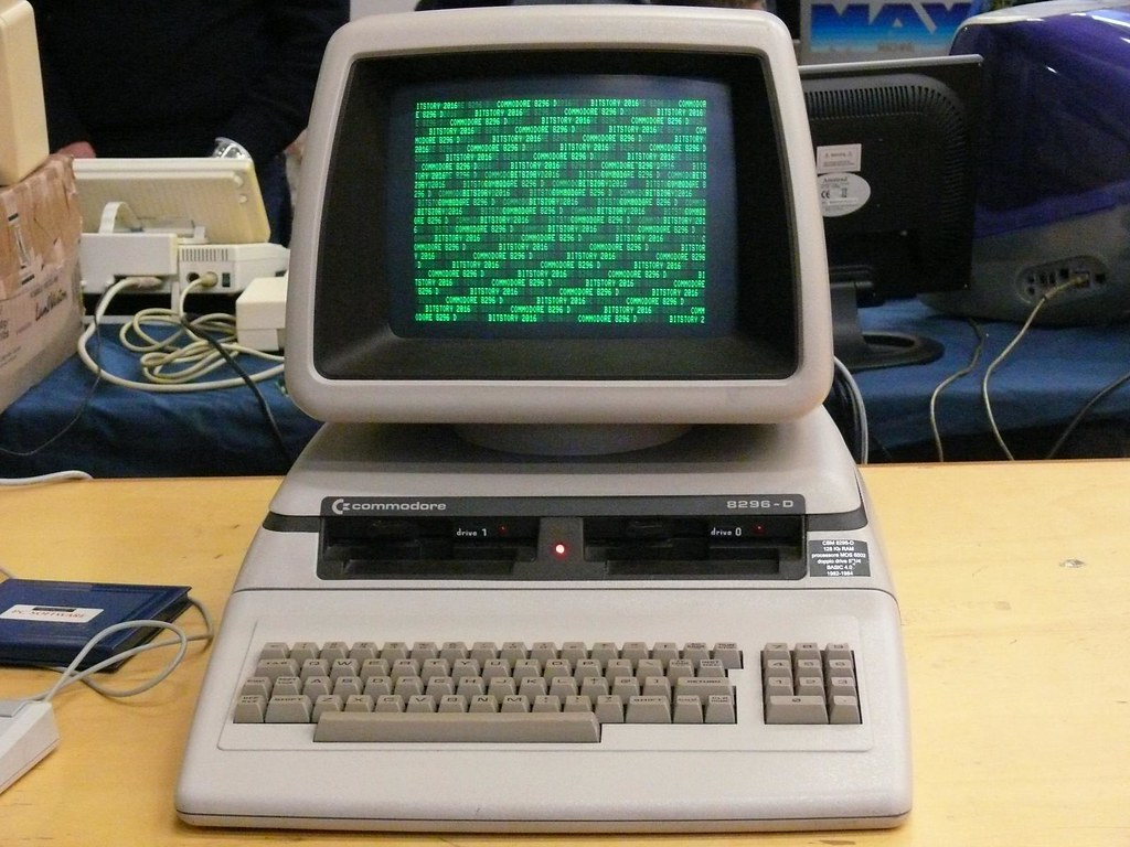 Commodore CBM Pet 8296D - BitStory 2016 Milano | www.bitstor ...