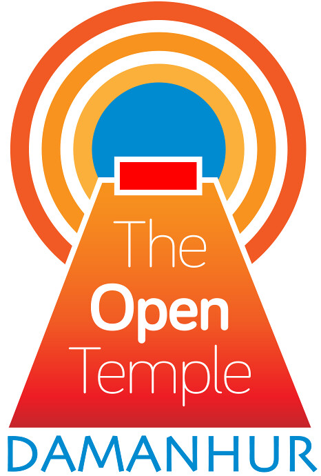 Damanhur Open Temple Renewal Project Logo