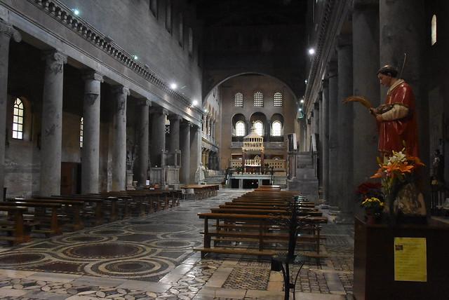 san lorenzo fuori di mura, Rome