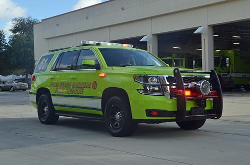 Palm Beach Gardens Fire Rescue Battalion 61 Palm Beach