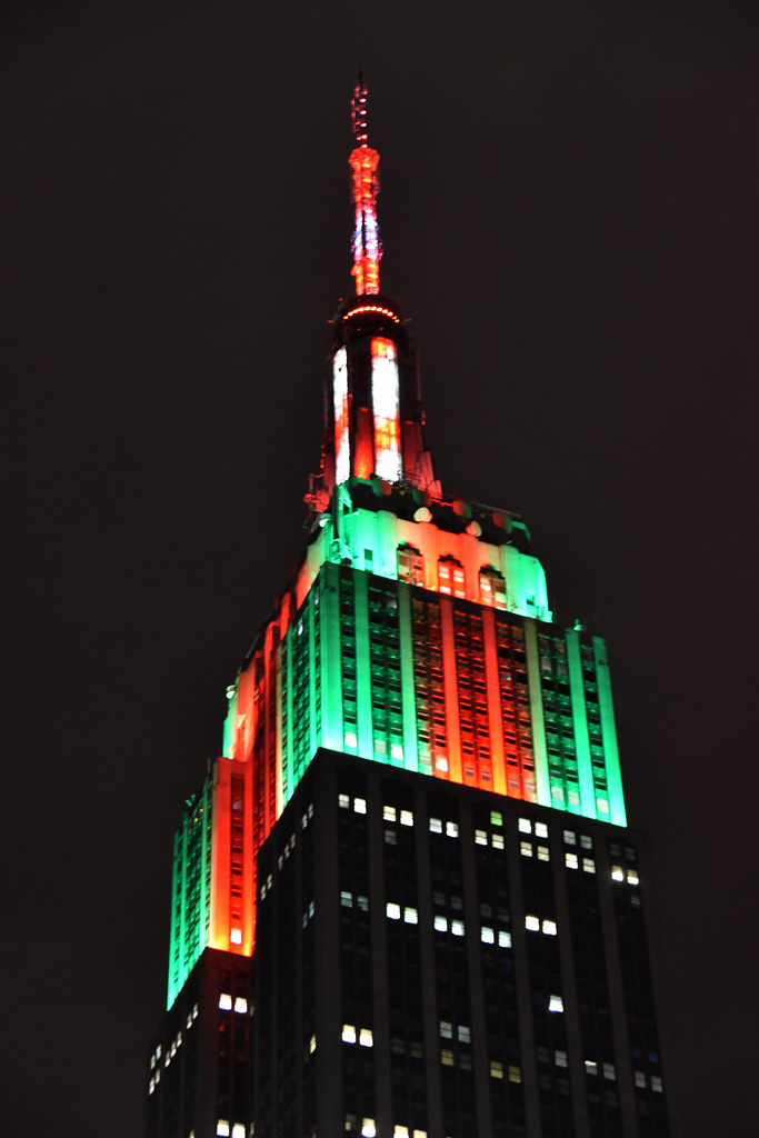 Picture Of Empire State Building Lit In Celebration of Chr… | Flickr