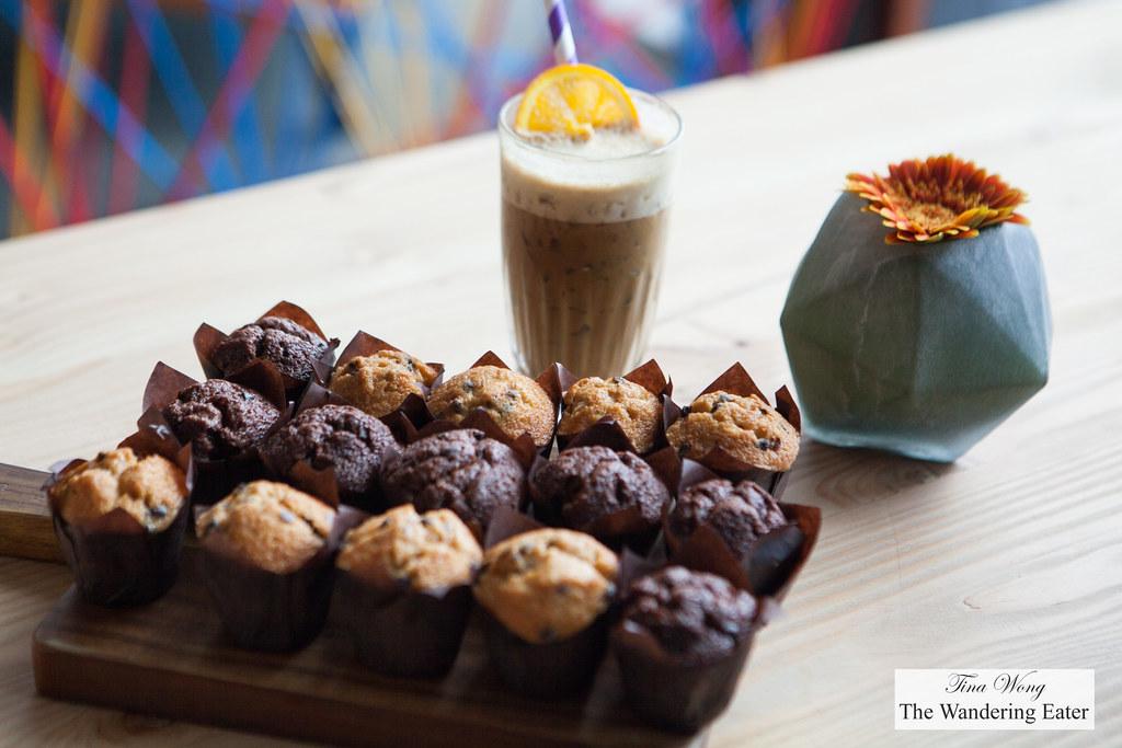 lette chokolade muffins