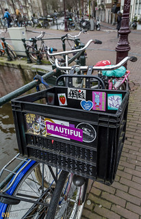 073 bicycles on the canal amsterdam 2 | by Eva Blue