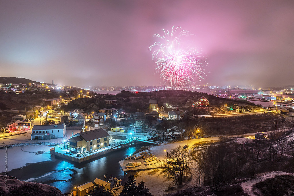 happy new year from st johns newfoundland canada by tuanland