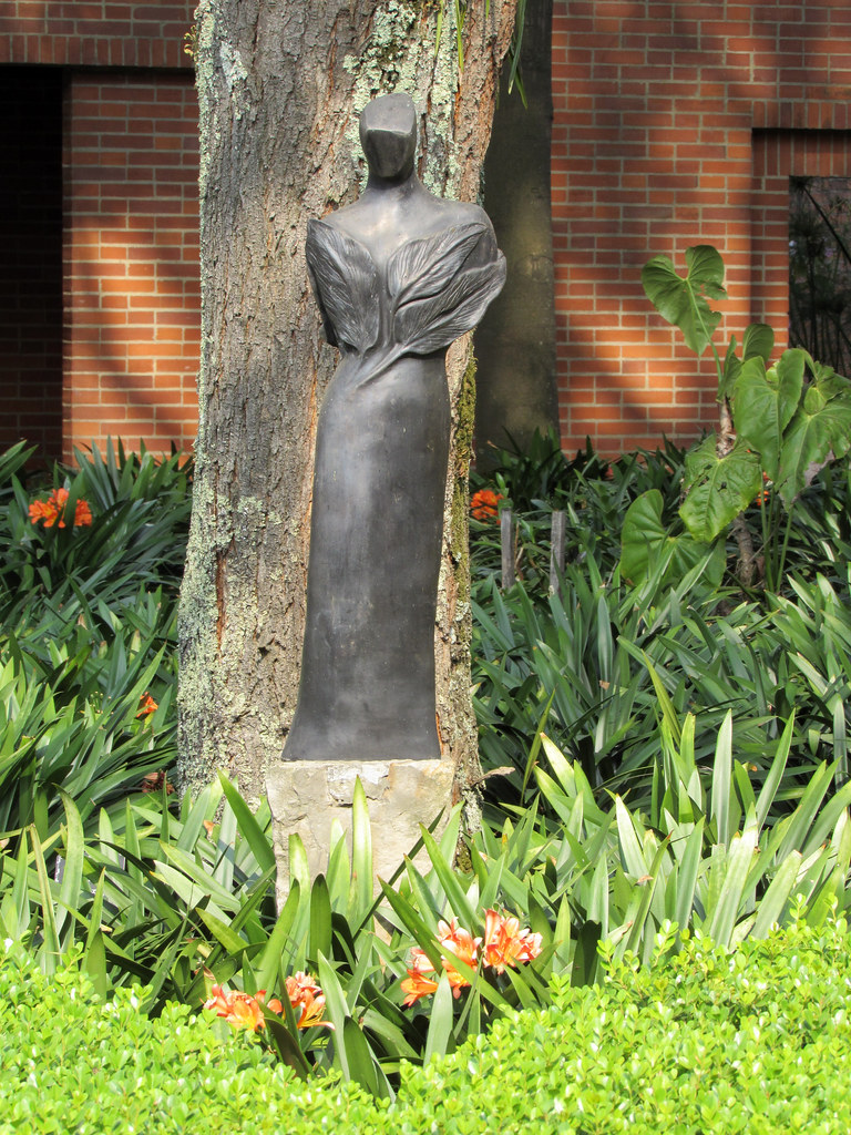 Escultura Jardin Botanico Bogota Dairo Correa Flickr - Escultura-jardin