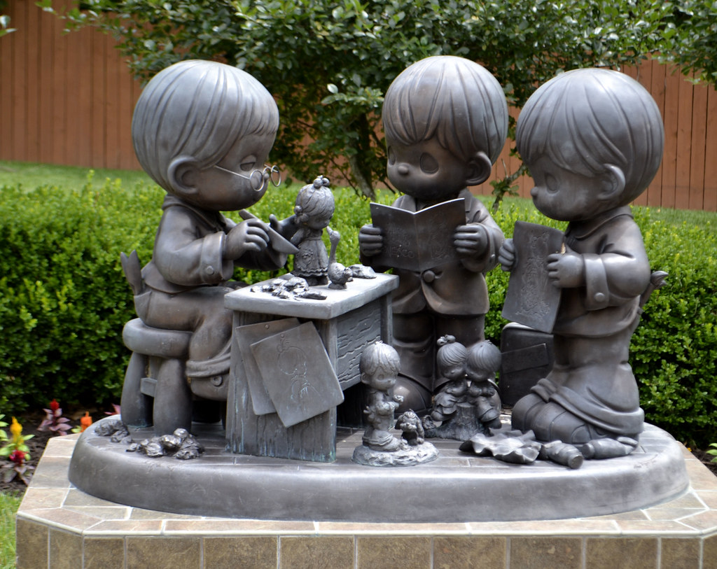 ... Making Precious Moments Statue | By Jo Naylor