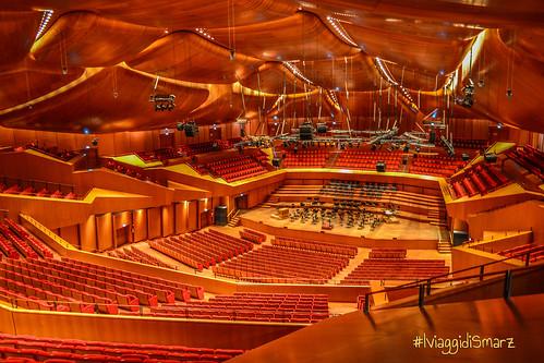Sala santa cecilia auditorium parco della musica roma for Auditorium parco della musica sala santa cecilia