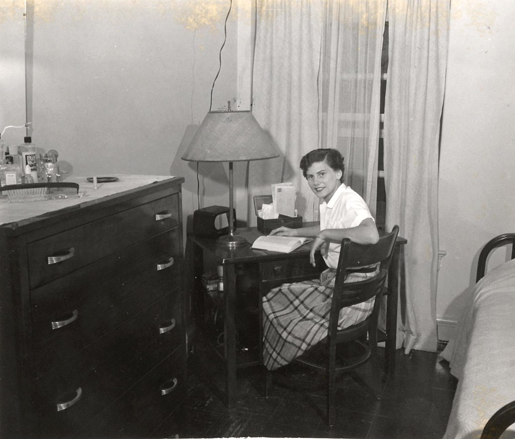 ... Uwdigitalcollections Barnard Hall Dorm Room; UW Madison | By  Uwdigitalcollections Part 90
