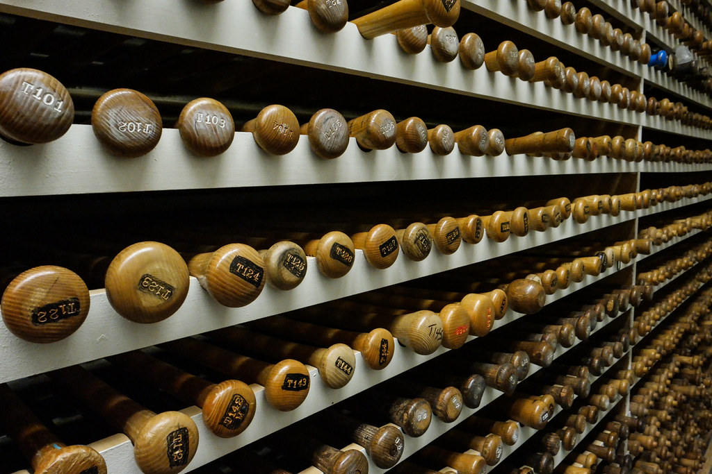 Inside the Vault at the Louisville Slugger Museum