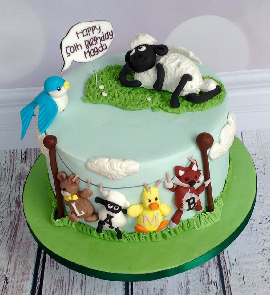 Shaun The Sheep Birthday Cake Perfectionistconfectionist Flickr