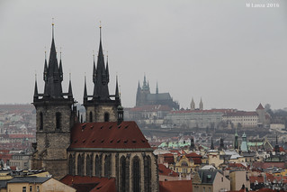 View from Prague's Powder Gate | by mlanza