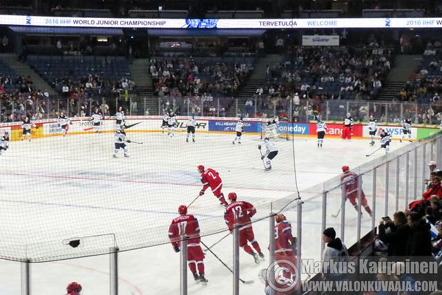 IIHF U20 2016 Helsinki | FINAL | FIN 4 - RUS 3