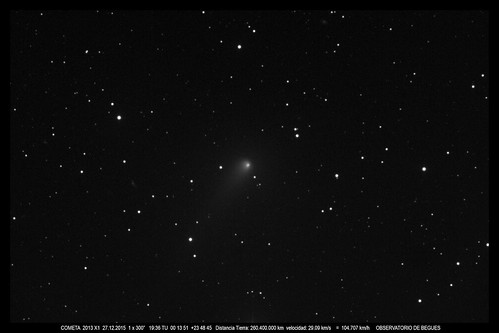Cometa 2013 X1 27 12 2015 | by Pepe Manteca