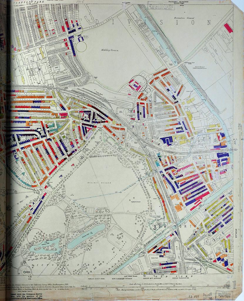 London County Council Bomb Damage Map Homerton Flickr - London map 1945