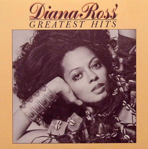 Vintage Vinyl Lp Record Album Diana Ross Greatest Hits