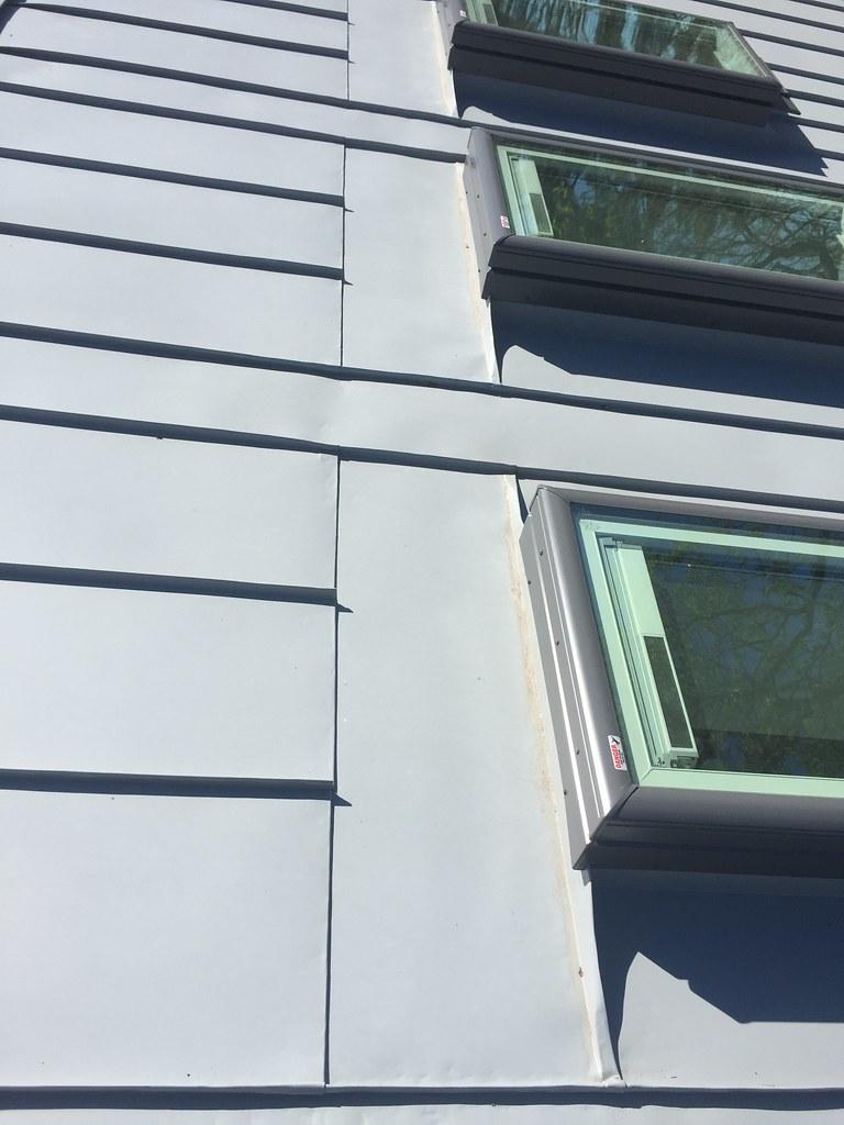 Rheinzink wall cladding and roof with Solar skylights   Flickr