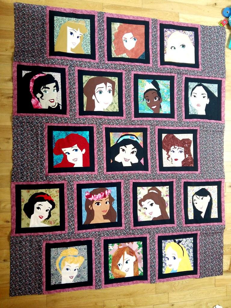 Disney Princess and Leading Ladies quilt... almost finishe… | Flickr : disney princess quilt - Adamdwight.com