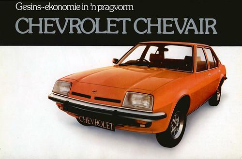 Circa 1977 Chevrolet Chevair catalog
