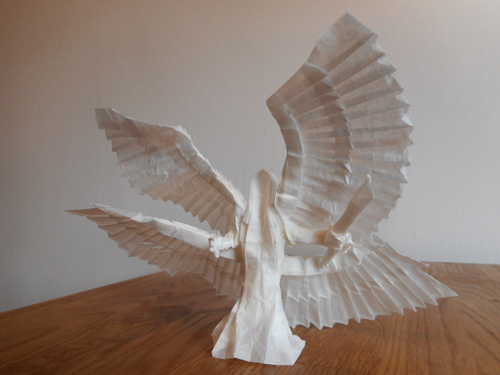 Origami 4 Winged Angel Designed By Me