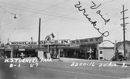 Montlake Drive-In Market, 1937 | by Rob Ketcherside
