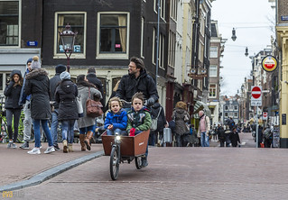 061 amsterdam cycling kids in a box 1 | by Eva Blue