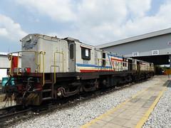 ktm ydm4 6535 & 6546 at bukit tengah depot, butterworth | flickr