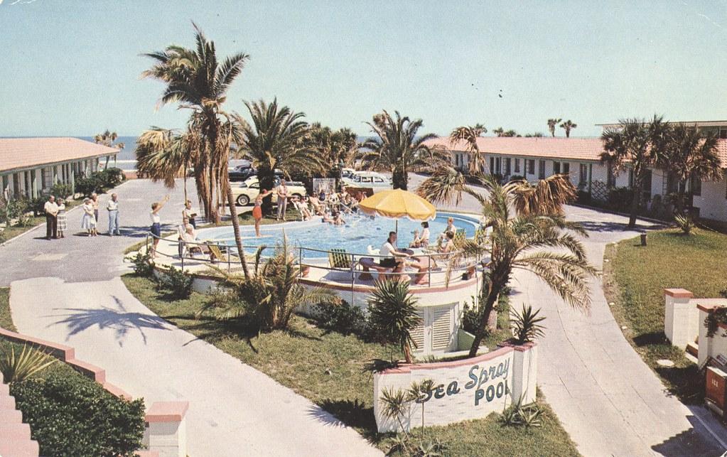 Sea Spray Beach Motel - Daytona Beach, Florida