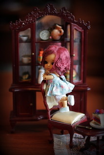 A Doll a Day Feb'16/ day 11/ on the shelf | by SareJolim