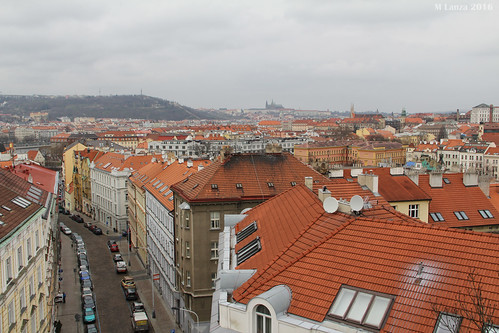 Prague from the Vysehrad | by mlanza