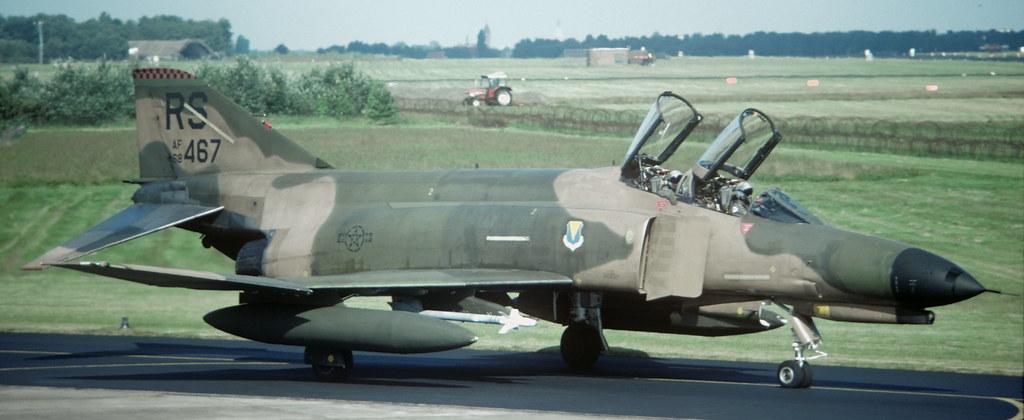 NATO F 4E RS 68 467 526 TFS 86 TFW