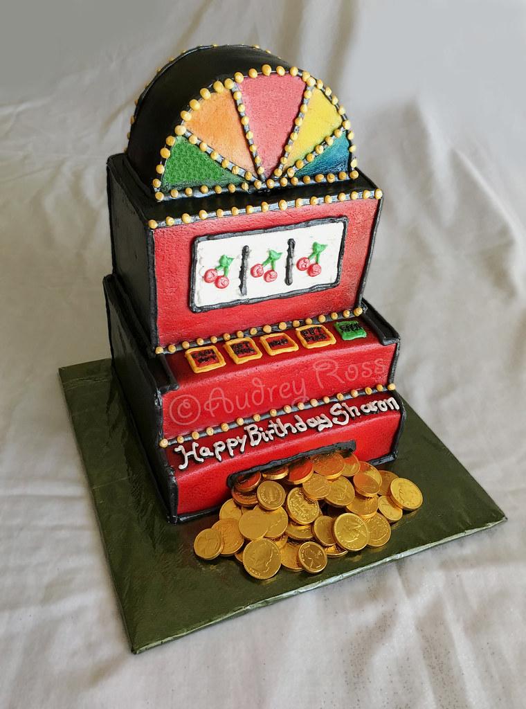 Slot Machine Birthday Cake Chocolate Strawberry And Whit Flickr