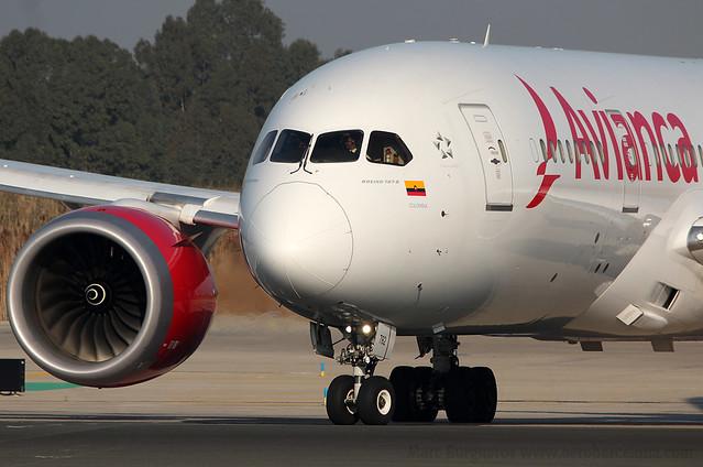 AVIANCA BOEING 787 N782AV