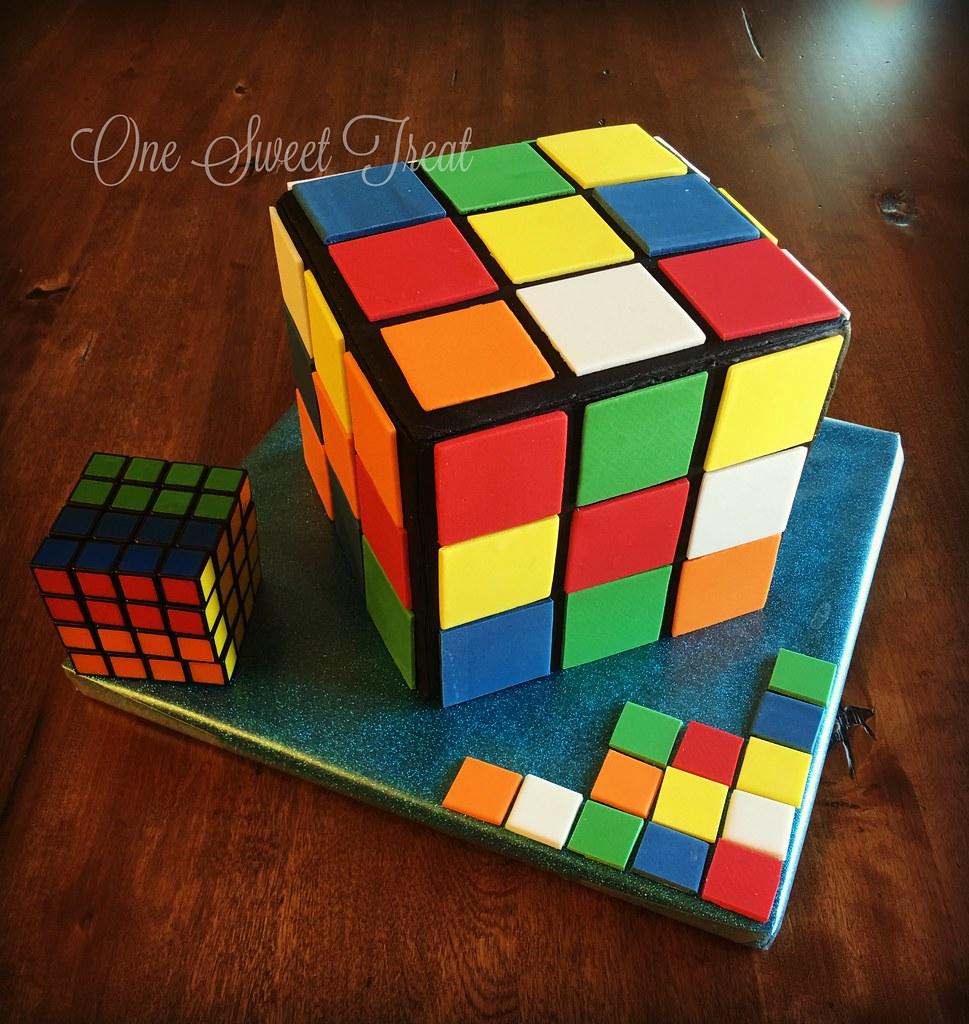 rubix cube cake mayra doehrmann flickr