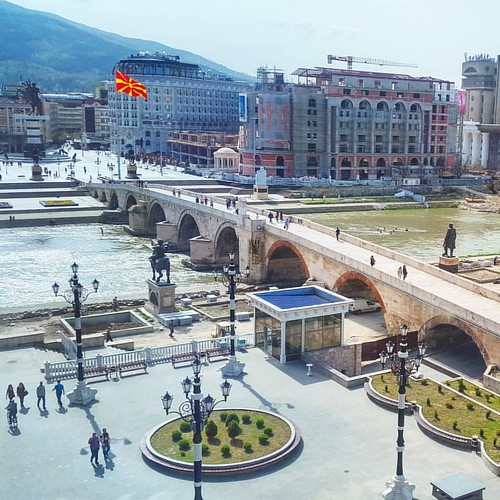 Million dollar #view :) #Skopje #Macedonia #StoneBridge #plaza #urbanexploration #picoftheday #photooftheday #photographer #ФотоНаНеделата #инстаграмџии | by Vladimir Ristevski