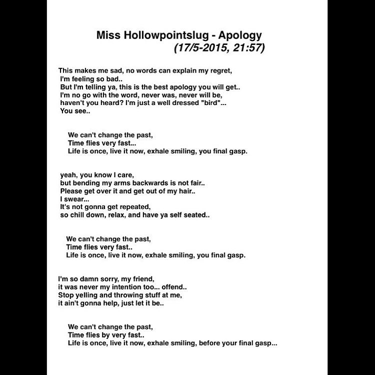 bars written by miss hollowpointslug apology 17 5 2015 flickr