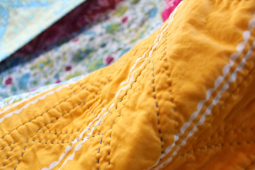 AMH On a Whim Quilt, Hand Quilted | by CoraQuilts~Carla